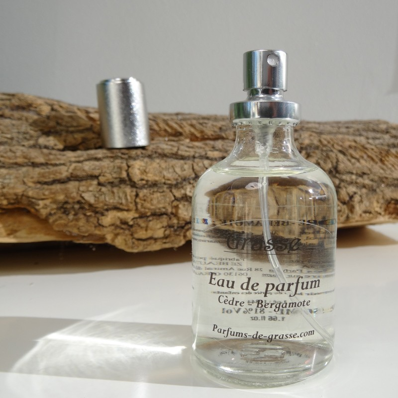 Parfum de Grasse Cèdre - Bergamote